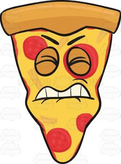 Irritated And Disgruntled Slice Of Pepperoni Pizza Emoji #americanpizza #annoyed #bite #caricature #cartoon #cartoonface #cheese #cheesy #cheeza #chicagostyle #crust #discontent #discontented #disgruntled #displeased #dissatisfied #emoji #emoticon #faceonfood #food #irritated #meltedcheese #miffed #mozzarella #mozzarellacheese #nettled #peeved #pepperoni #pepperonichips #pepperonislices #pie #pissed #pissedoff #pizza #pizzapie #pizzaslice #riled #roiled #single #singleslice #slice #smiley…