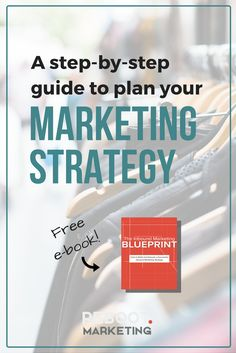 Need a marketing strategy for your blog or business, but now sure where to begin? My FREE e-book has a step-by-step guide!