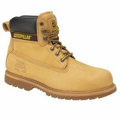 8519fc194e6 Caterpillar Holton S3 Work Boots with Steel Toe Caps and a Steel Mid-sole