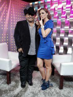 Joselyn Juncal en Secreto a Voces de Bandamax con Chuy Lizarraga