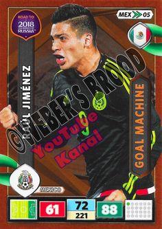 MEX05. Raul Jiménez (Mexico) - Goal Machine Panini Road to 2018 FIFA World Cup Russia Adrenalyn XL