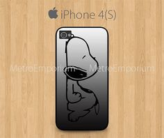Snoopy iPhone 4 iPhone 4S Case Cover by MetroEmporium on Etsy, $15.79