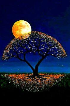 Falling for You Beautiful Nature Wallpaper, Beautiful Moon, Beautiful Landscapes, Moonlight Photography, Moon Photography, Scenery Wallpaper, Landscape Wallpaper, Images Ciel, Afrique Art