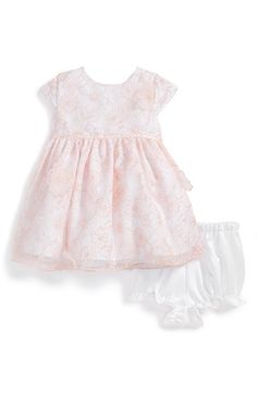 Pippa & Julie Embroidered Organza Dress & Bloomers (Baby Girls) available at #Nordstrom