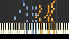 The Entertainer, by Scott Joplin, piano tutorial. Piano Songs, Piano Music, Piano Tutorial, Boogie Woogie, Free Sheet Music, Music Theory, Music Stuff, Keyboard, Tutorials