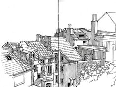 gallery of urban sketches