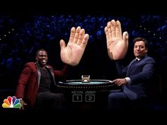 This is hilarious. Kevin Hart and Jimmy Fallon play Slapjack on The Tonight Show with Jimmy Fallon.