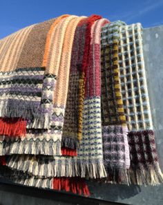New Shetland throws... coming soon! www.wallacesewell.com