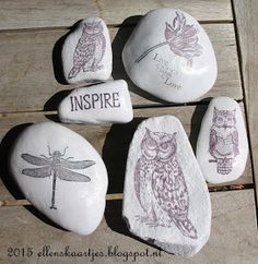When I think of something these owls just appear. Card Tags, Cards, Journey, Stamp, Owls, Artwork, Summer, Craft Ideas, Geocaching