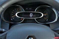 Compteurs de la nouvelle Renault Clio 4