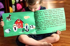 An easy way to get your kids writing--at an early, preschool age! Fun activity to connect with your little one.