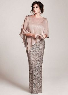 Stunning Plus Size Mother Of The Bride Dress
