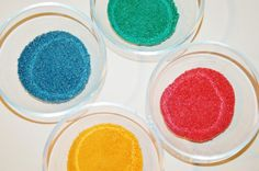 How to Make Your Own Homemade Art Sand
