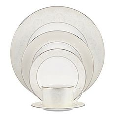 Kate Spade New York Dinnerware Chapel Hill 5 Piece Place Setting Fine China Dining Entertaining Macy S