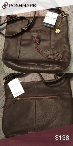 FINAL PRICE! Lucky 🍀Brand leather purse Beautiful details! Lucky Brand Bags Shoulder Bags