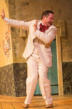 Here's a new pic of Grant O'Rourke in his production of 'The Venetian Twins' Source