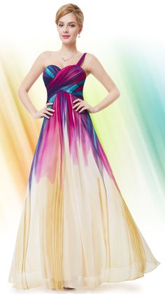 Special Garb: Black Tie - Colourful dress