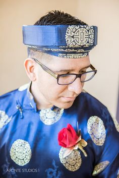 Traditional Vietnamese Grooms Outfit