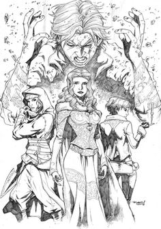 Wheel of Time art by Andie Tong