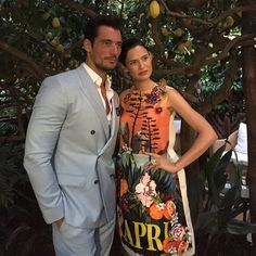 David Gandy and Bianca Balti in Capri for Light Blue by Dolce&Gabbana @vanityfairitalia #dglightblue #dgbeauty #lightbluejourney #biancabalti #davidgandy