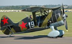 Polikarpov I-15, Fuerza Aérea Rusa / Polikarpov I-15, Russian Air Force