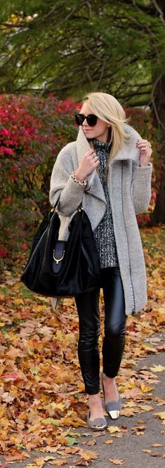 Grey and Black for fall