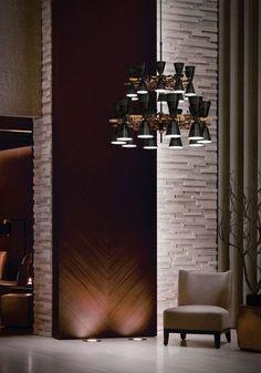 Creative Mid-Century Suspension Lamp for Modern NY Interior Design Projects | www.delightfull.eu #delightfull #midcentury #uniquelamps #interiordesign