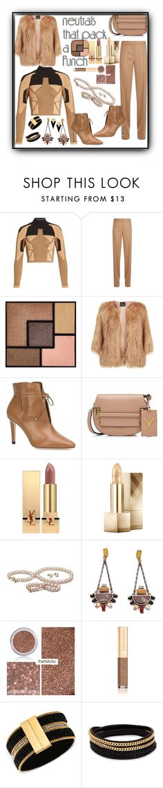 """""""#neutrals"""" by onesweetthing ❤ liked on Polyvore featuring adidas Originals, MaxMara, Yves Saint Laurent, Pinko, Jimmy Choo, Valentino, Burberry, Dolce&Gabbana, GUESS and Vita Fede"""