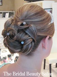 Hmm... yet another lower updo that I like. I think I'm noticing a pattern.