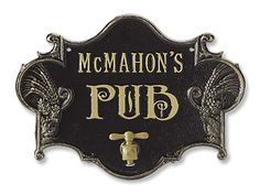 Pub Sign and Bottle Opener from ORVIS for $69