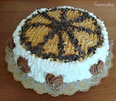 Orechovo-karamelová torta k narodeninám (fotorecept) - recept   Varecha.sk Cake, Desserts, Food, Basket, Tailgate Desserts, Deserts, Kuchen, Essen, Postres