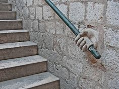 13th Century Stairs in Dubrovnik (this one in Dubrovnik, but art is everywhere)