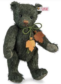 Steiff EAN 664212 Autumn Teddy Bear Limited Edition