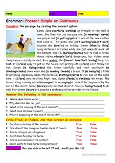 Easy English Grammar, Practice English Grammar, English Language Learners, Grammar Lessons, Learn English Words, English Lessons, English Vocabulary, Teaching English, Ielts Writing Task1