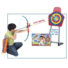 Deluxe Archery Set with Target - Educational Toys, Specialty Toys and Games - Creative, Award Winning for Science, Math and More   Young Exp...