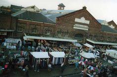 Wigan Market and Market Hall circa 1970s