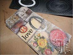 Embellishments / Verzierungen Advantus Tim Holtz industrious sticker Zierrahmen