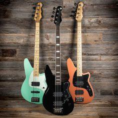 "Chicago Music Exchange on Instagram: ""These @reverendguitars bass guitars are…"