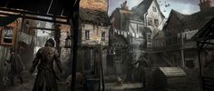 The concept art behind Assassin's Creed Syndicate's beautiful Victorian London   The Verge