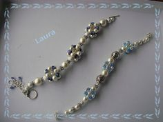 Di tutto un po'... bijoux, uncinetto, ricamo, maglia... ღ by tesselleelle ღ : Qualche braccialetto