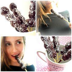 Recept gezond druiven chocolade ijsje - goodtobeyou.nl