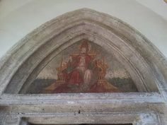 Immage of the Pope. Hartkirchen, county Passau