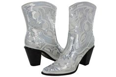 Helen's Heart Women's Sparkle Sequin Bling Short Western Cowgirl Boots Assorted Colors *** This is an Amazon Affiliate link. Want additional info? Click on the image. Fall Fashion 2016, Autumn Fashion, White Boots, Cowgirl Boots, Ankle Booties, Westerns, Heeled Boots, Sparkle, Sequins