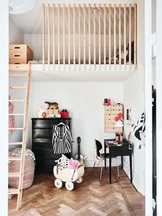 The Advantages of a Loft Bed in a Kids Room Little Girls Room Advantages bed Kids Loft room