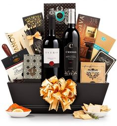 Christmas On 5th Avenue Holiday Gift Basket For Him Best Baskets Prime Wines Delivery