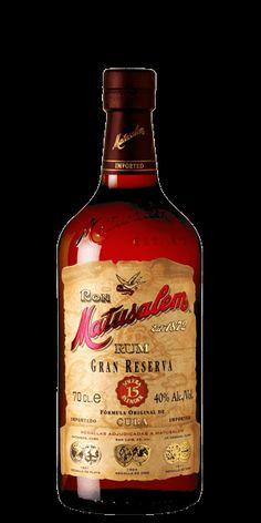 """Matusalem 15 Gran Reserva Rum the """"Cognac of Rums"""" for B"""