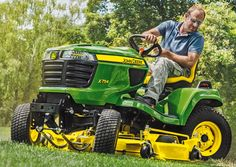 Best John Deere Lawn Tractors designed for comfort, convenience and performance, are the ultimate in lawn maintenance. The exceptionally smooth ride, with their high-quality transmission and fully welded frame.