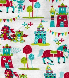 Snuggle Flannel Fabric-Magic Kingdom