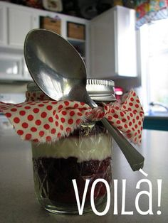 Mason Jar RED VELVET cup cakes...oh my!