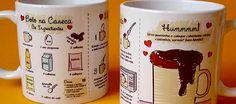 Cerâmica como lembrança de chá de cozinha